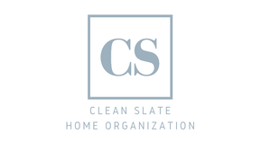Clean Slate Home Organization